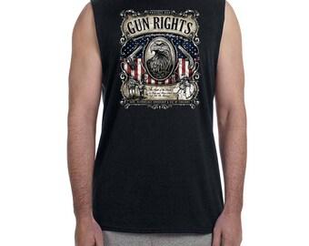 Protect our Gun Rights 2nd Amendment Sleeveless T-shirt