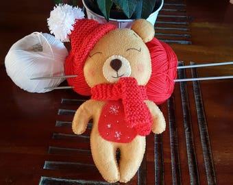 Teddy bear how gingerbread