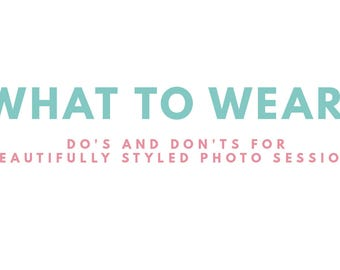 What to wear style guide for photographers