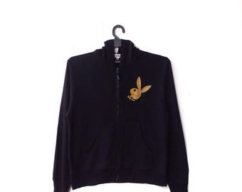 Playboy Big Logo Zipper Sweater Hoodie