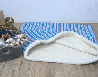 Dog Snuggle Bed/Dog Burrow Bag/Dog Sleeping Bag/Dog Bed 28x30 inches