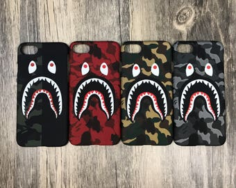 Bape camo custom Phone Cases apple iPhone 6 6s plus 7 7 plus 8 Plus Iphone x 10 inspired ape