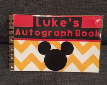 Mickey Mouse Autograph Book/Boys Disney Autograph Book