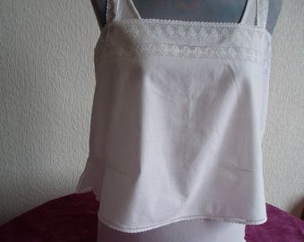 Lovely Camisole with embroidery English
