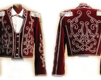 Bolero, traditional dress from the Landes spacers for spacers