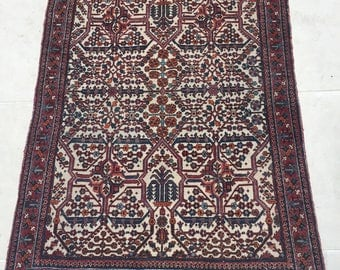 Vintage Persian Joshagan Carpet - 152 X 104cms