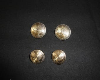 Republica Mexico shank metal buttons