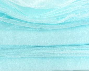 Destash fabric 3 meters fine tulle Satin Ice 155cm wide