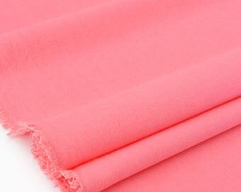 Fabric washed soft pink x 50cm