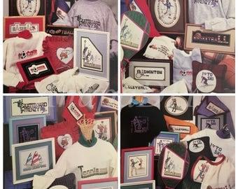 PDF 17 Cross-Stitch Sports