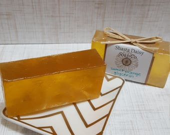 Sweet Orange Glyercin Soap