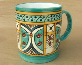 Coffee Mug in Turtle Pattern