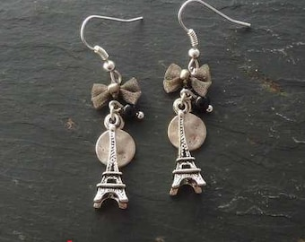 I Love Paris earrings are 3