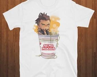 Send Noods T-shirt Naruto Ramen