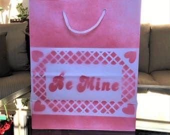 Valentine Be Mine Gift Bag