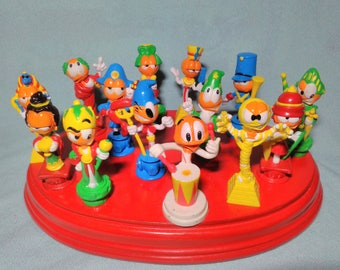 14. promotional figures of Chupa Chups in 1994 in rubber pvc