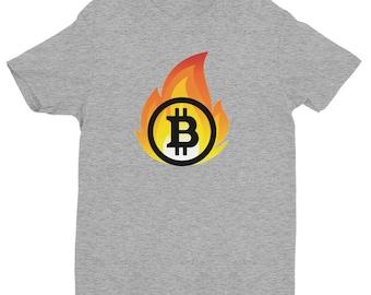 Mens Bitcoin T Shirt