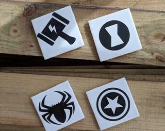 Marvel Superhero Coasters