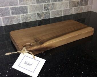 Luxury hand crafted walnut board