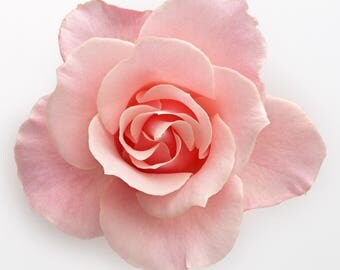 Light Pink Rose Cross Stitch Pattern
