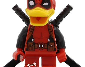 Deadpool Duck (SDCC) LEGO Compatible