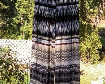 Aztec Bohemian Strapless Jumpsuit