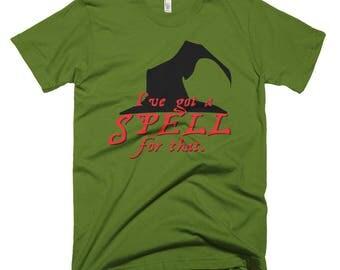 Spell for that Short-Sleeve T-Shirt
