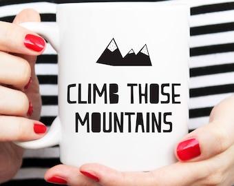 mountain mug, nordic cup, scandi mug, scandi cup, nordic mug, scandi presents, nordic lover, scandi lover