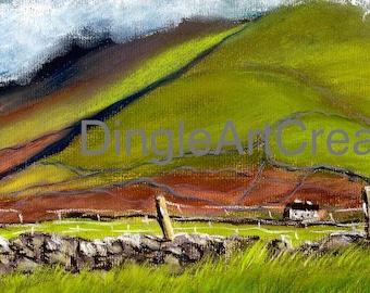 Mount Brandon from my house is Ballydavid, Dingle Peninsula, Wild Atlantic Way, Kerry, Ireland