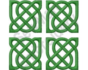 Celtic Knot Square - Machine Embroidery Design