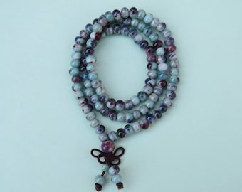 110 ceramic beaded necklace