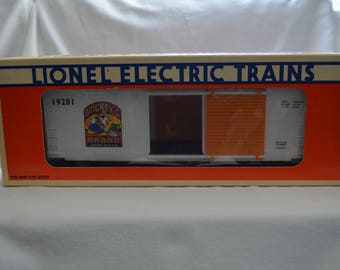 Lionel Trains 6-12981 Mickey's Carrots Hi-Cube Boxcar New condition