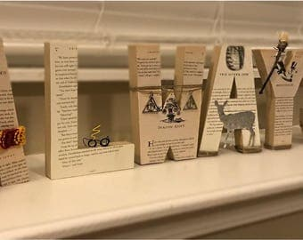 Harry Potter decor, Always Harry Potter letters, reading nook decor