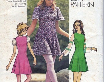Simplicity 9804: Vintage Mini Dress