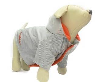 Waterproof pet coat model A Stripes