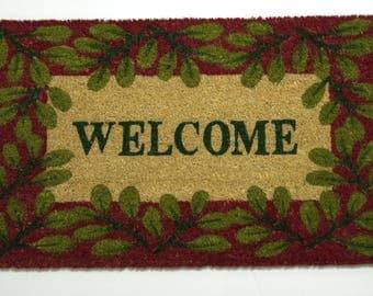 Door Mat; welcome mat