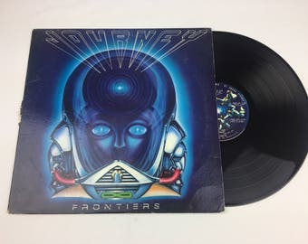 "Journey ""Frontiers"" vinyl lp record with sleeve"