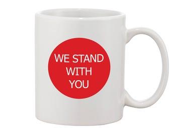 IRAN Protest Mug Iranian Protests Coffee Mug We stand with you mug Iran Protests for Iranian Americans Coffee Mug of Protests in Iran
