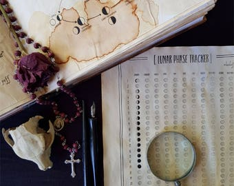 Book of the Moon | Book of Shadows Printable PDF Pages