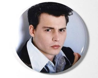 "Young Johnny Depp LARGE 2.25"" Magnet #4"