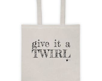 Give it a Twirl Dance bag | Swing Swag dancer gifts