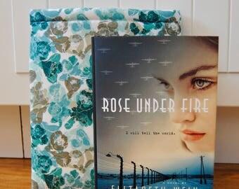 Blue/Grey Floral Book Sleeve