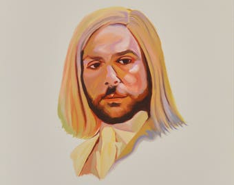 Charlie Kelly, Lethal Weapon 5, Instant Download, Always Sunny in Philladelphia, Scan of Gouache Painting