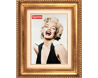 Supreme x Marilyn Monroe Poster or Art Print