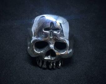 Cross Skull Ring