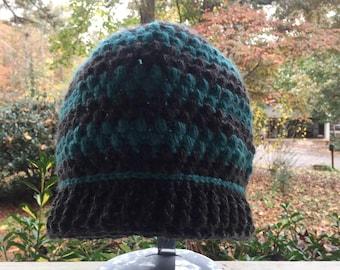 Puffy stitch hat