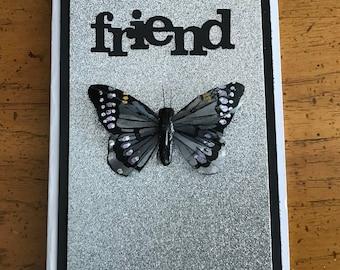 3D friendship card, best friend, already know too much
