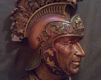"""Fraser Art Of """"HORATIUS COCLES"""" Wall Plaque"""