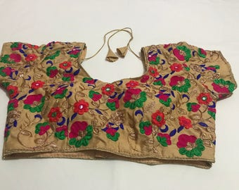 New Readymade Embroidery Saree Blouse