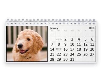 Goldendoodle 2018 Desk Calendar